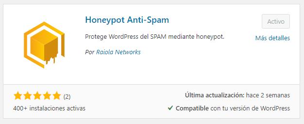 spam wordpress