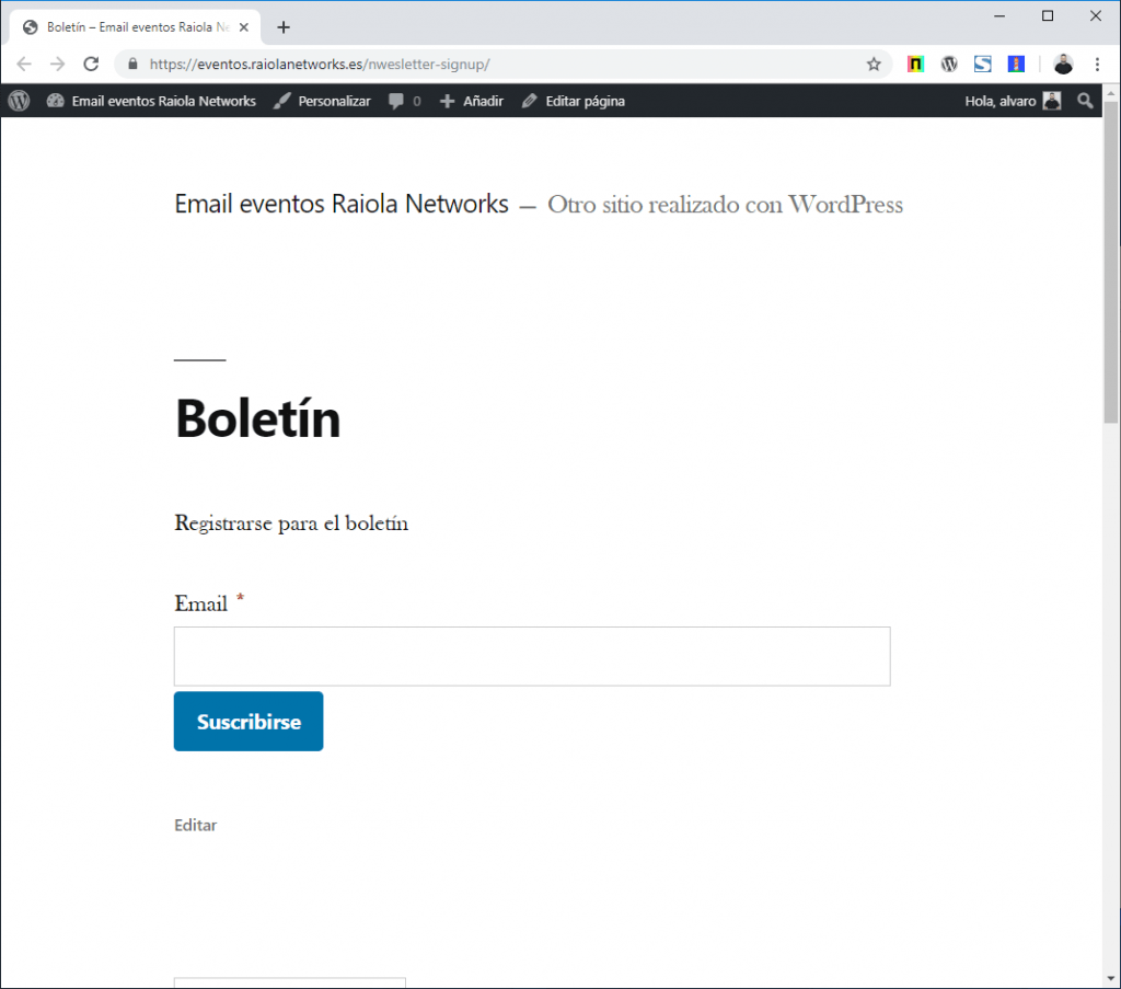 mailster wordpress
