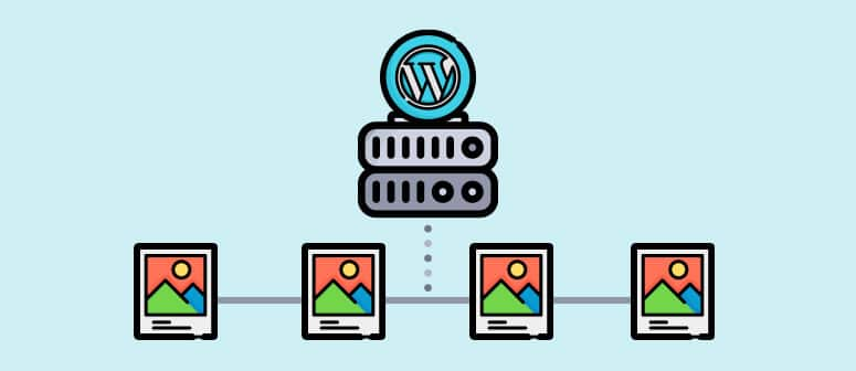 image hosting wordpress