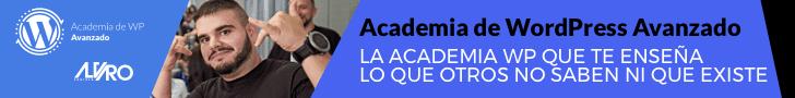 Banner de Academia WP Avanzado