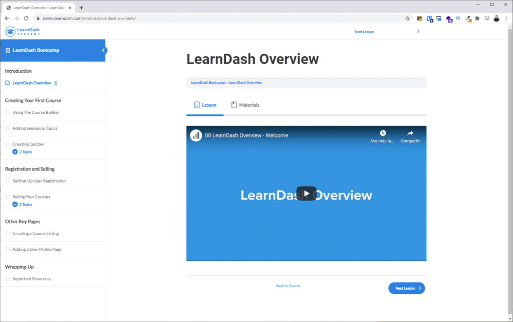 learndash wordpress
