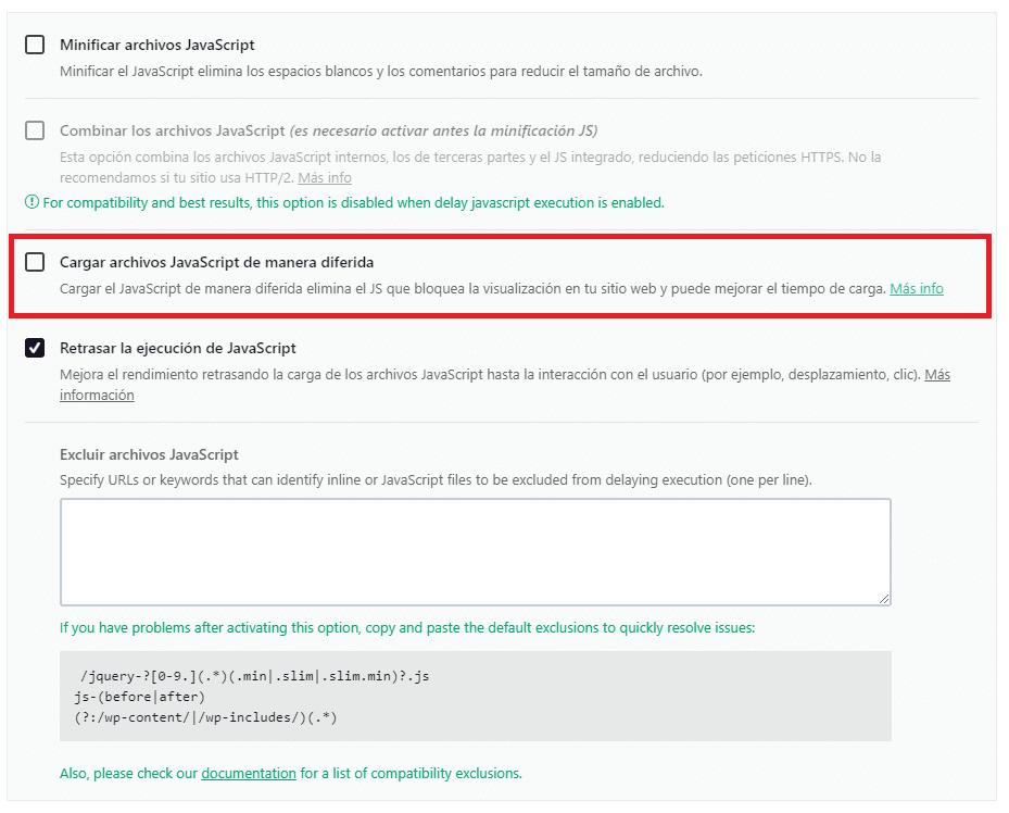 optimizar javascript