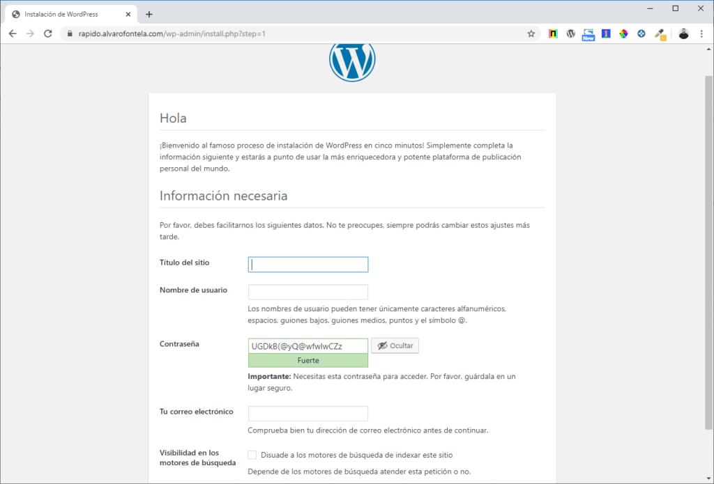 wpo server wordpress