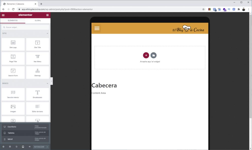 aplicacion android wordpress